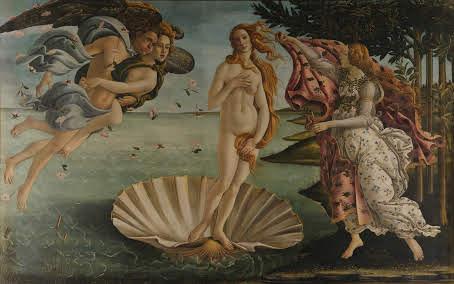 Sandro Botticelli. El naixement de Venus. 1484