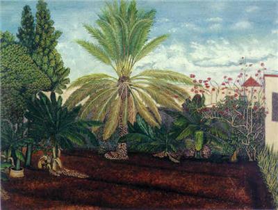 Rafael Moreno. Traspatio en Marianao. 1943. col·lecció privada.