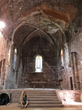 Presbiteri de l'església de St. Miquel d'Escornalbou