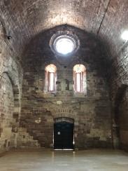 Façana principal, vista interior.