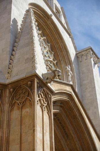 Gàrgola a la catedral de Tarragona