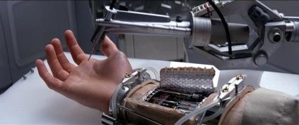 Braç biònic utòpic de 1980, Star Wars.