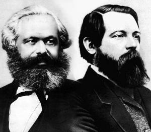 Karl Marx i Friederich Engels