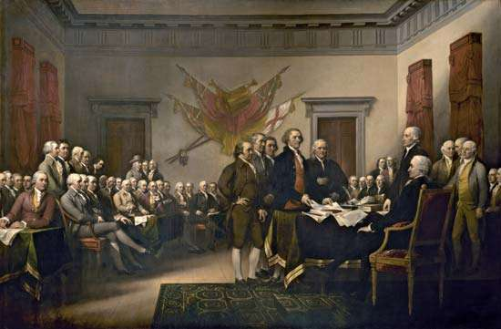 Declaration of Independence 1818 by John Trumbull